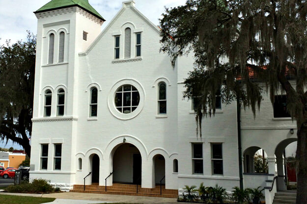 Stop on the Florida Walking Tour App - First United Methodist Church