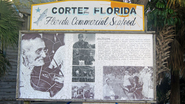 Cortez Historical Sign, Cortez Village, Bradenton
