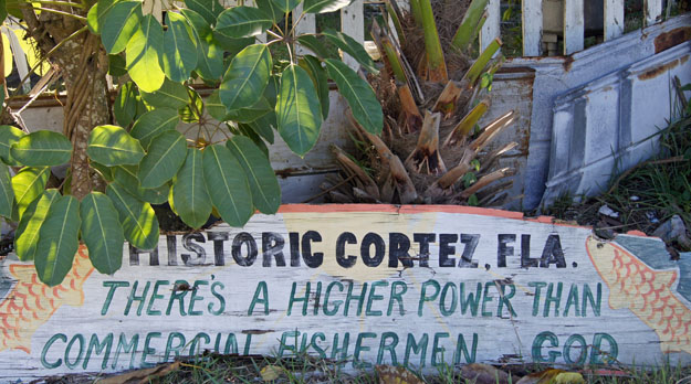Cortez Sign, Cortez Village, Bradenton