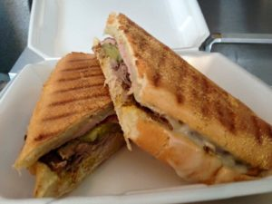 Cuban Sandwich from JJ Chago's in Navarre Florida