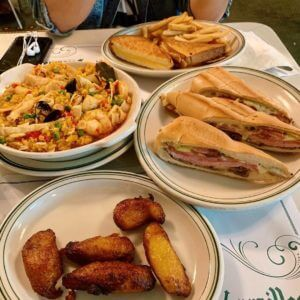 Cuban Food from Versailles Restaurant in Miami