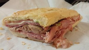 Cuban Sandwich from Brocato's Sandwich Shop in Tampa Florida