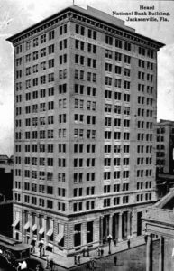 Photo of the Heard National Bank Building in Jacksonville Florida