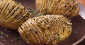 Florida Hasselback Potatoes
