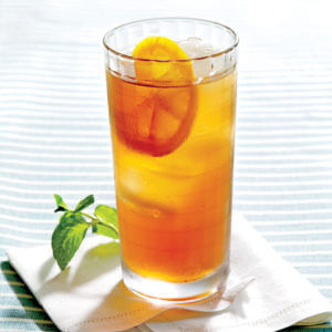 Southern Sweet Tea made by a recipe from Southern Living