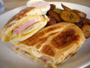 Cuban Sandwich from Habana's Boardwalk in Tallahassee Florida