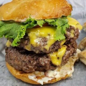 Photo of burger from Pinegrove Maket and Deli in Jacksonville Florida