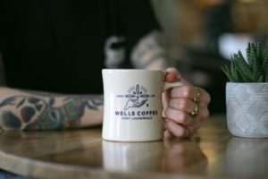 Photo of coffee at Wells Coffee Company in Fort Lauderdale Florida