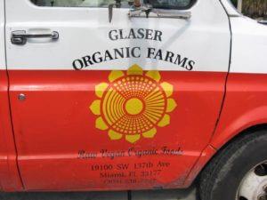 Photo of Glaser Organic Farms Truck in Miami, Florida