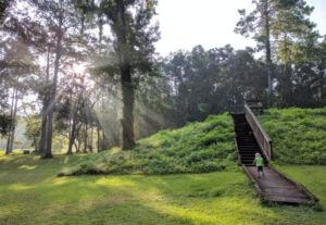 Photo of Lake Jackson Mounds Archaeological State Park in Tallahassee Florida