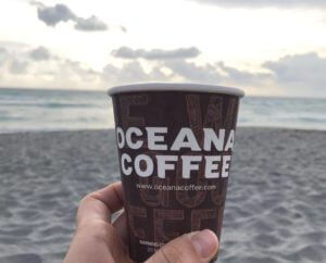 Photo of coffee at Oceana Coffee Roasters in Tequesta Florida
