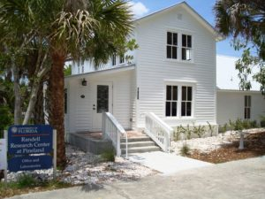 Photo of the Randell Research Center in Pineland Florida