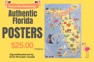 Photo of Authentic Florida Poster For Sale