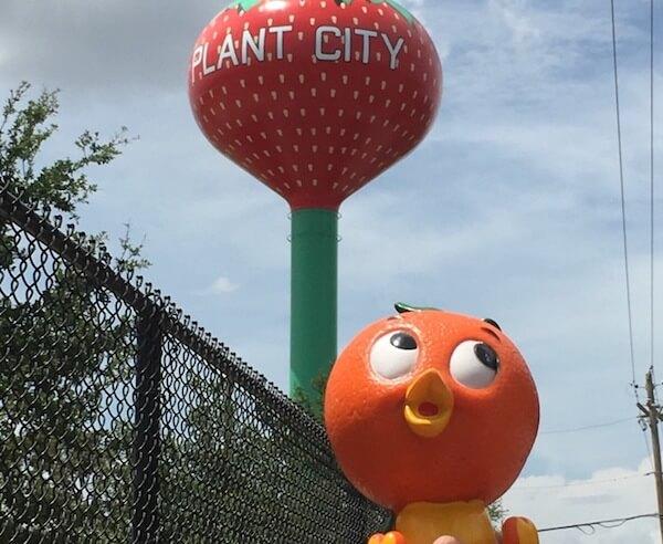 Foto de Plant City Strawberry Water Tower