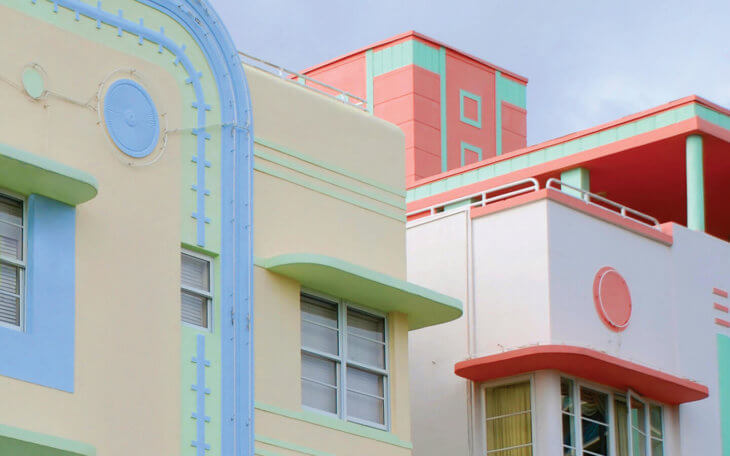 Art Deco District South Beach