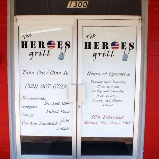 The Heroes Grill Titusville
