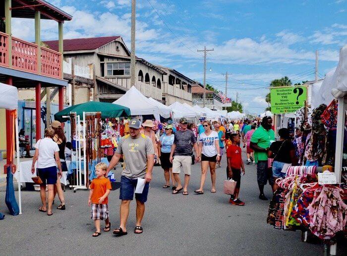 Photo of the Cedar Key Seafood Festival